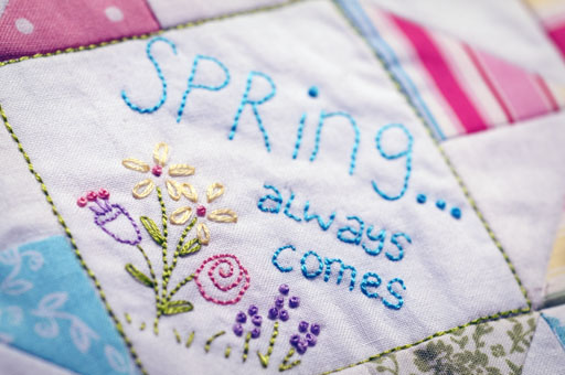 Thimbleanna: Spring Always Comes