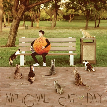 Thimbleanna: National Cat Day