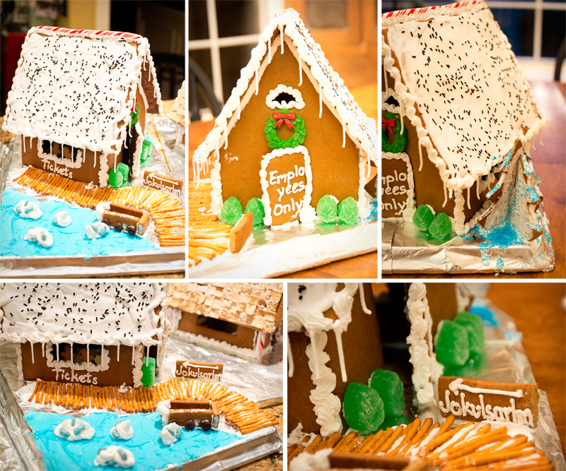 Gingerbread Houses | Thimbleanna