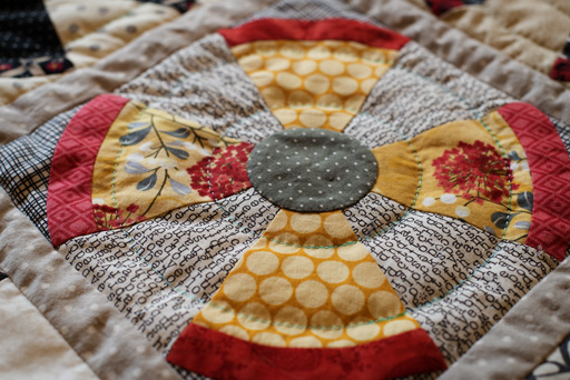 Thimbleanna: Big Stitch Quilting