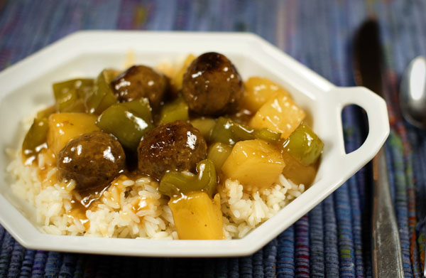 Thimbleanna: Sweet and Sour Meatballs