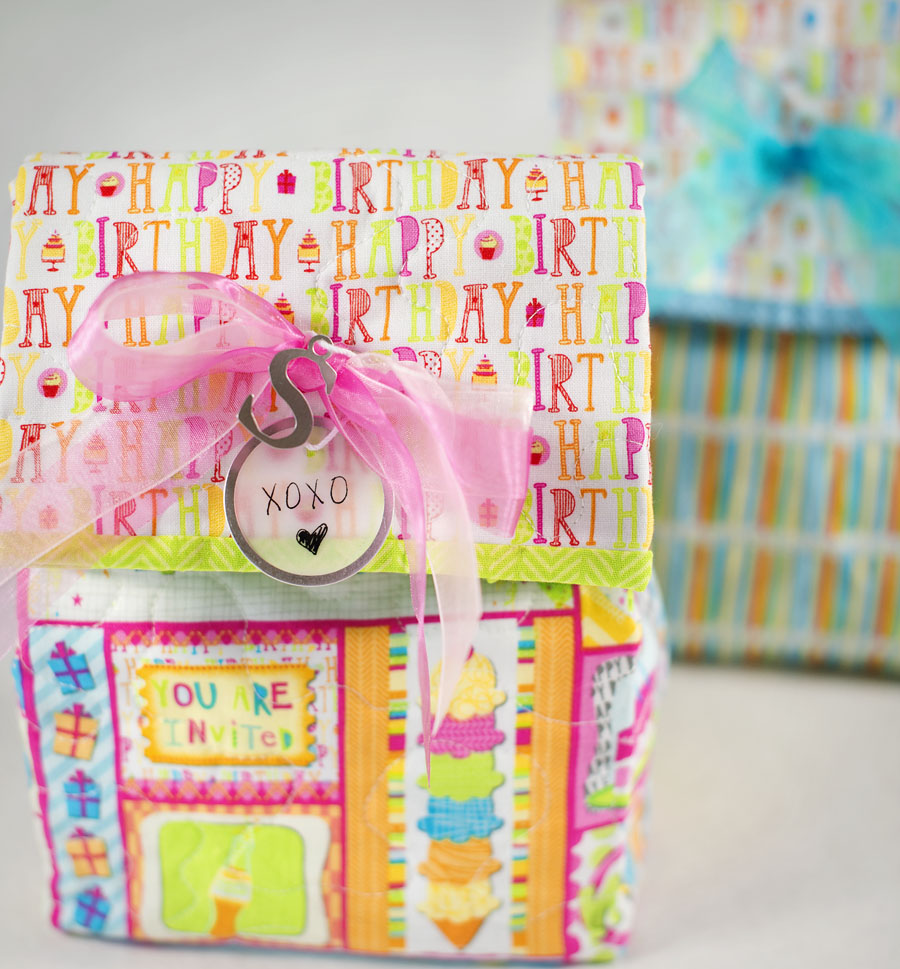 Thimbleanna: Happy Birthday Giftbag