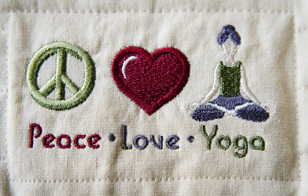 Thimbleanna: Yoga Mat Bag