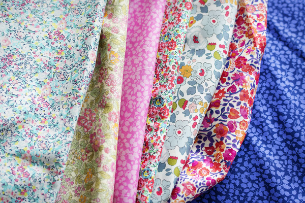 Thimbleanna: Liberty Fabric