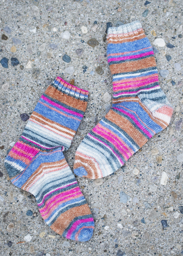 Thimbleanna: Stripey Socks