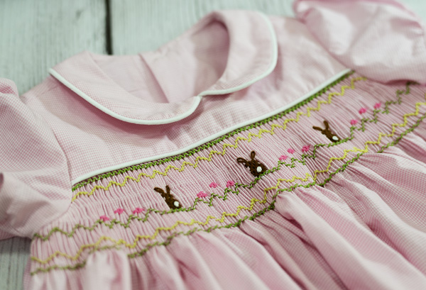 Thimbleanna: Smocked Dress